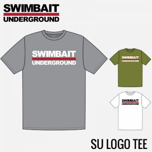 SWIMBAIT UNDERGROUND/Logo Lock Up Tシャツ【2019新色】