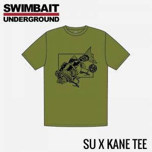 SWIMBAIT UNDERGROUND/SU×Kane Tシャツ