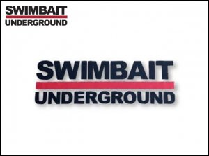 SWIMBAIT UNDERGROUND/ロゴステッカー 【転写プリント】