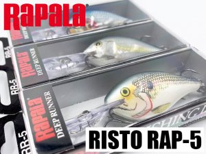 <img class='new_mark_img1' src='https://img.shop-pro.jp/img/new/icons15.gif' style='border:none;display:inline;margin:0px;padding:0px;width:auto;' />Rapala/RISTO RAP【RR-5】