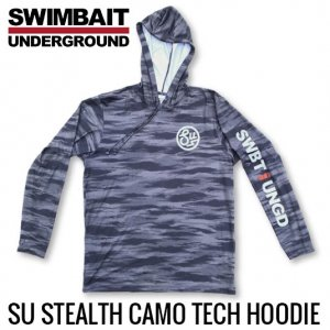 <img class='new_mark_img1' src='https://img.shop-pro.jp/img/new/icons15.gif' style='border:none;display:inline;margin:0px;padding:0px;width:auto;' />SWIMBAIT UNDERGROUND/Stealth Camo Tech Hoodie