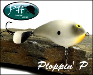 PH custom lures/ Ploppin' P
