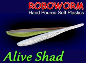 Roboworm/Alive Shad 4inch