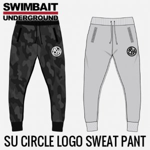 SWIMBAIT UNDERGROUND/SU Circle Logo SWEAT PANT
