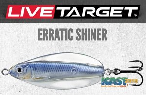 LIVETARGET/ERRATIC SHINER【3/8oz】