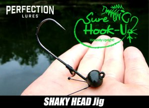 Perfection Lures/Sure Hook Up Shaky Head【3本入り】