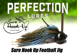 Perfection Lures/Sure Hook Up Football Jig