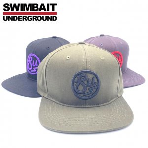 SWIMBAIT UNDERGROUND/Circle SU Snapback Hat