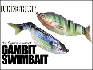 <img class='new_mark_img1' src='https://img.shop-pro.jp/img/new/icons55.gif' style='border:none;display:inline;margin:0px;padding:0px;width:auto;' />LUNKERHUNT/GAMBIT SWIMBAIT