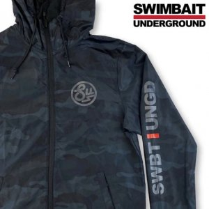 <img class='new_mark_img1' src='https://img.shop-pro.jp/img/new/icons15.gif' style='border:none;display:inline;margin:0px;padding:0px;width:auto;' />SWIMBAIT UNDERGROUND/Zip Up Windbreaker