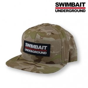 <img class='new_mark_img1' src='https://img.shop-pro.jp/img/new/icons15.gif' style='border:none;display:inline;margin:0px;padding:0px;width:auto;' />SWIMBAIT UNDERGROUND/Logo Lock Up Patch Hat