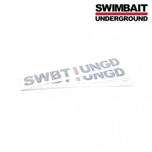 SWIMBAIT UNDERGROUND/SU Unstacked ステッカー [SWBTIUNGD]【転写】