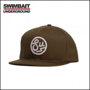 SWIMBAIT UNDERGROUND/SU Circle Logo Patch Hat
