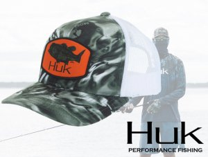 Huk/Largemouth Trucker Mesh Hat【2020 NEW】