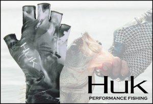 Huk/Mossy Oak Sun Gloves