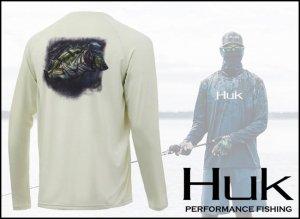 Huk/Pursuit Bass and Blue Longsleeve Shirt【2020 NEW】(ラグラン ロングTシャツ)