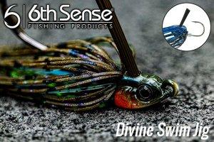 6th Sense fishing/Divine Swim Jig【3/8oz】