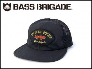 バスブリゲード/88TH BIG BAIT DIVISION PERFORMANCE MESH HAT - BLACK