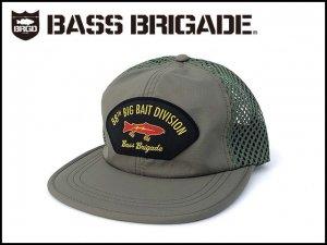 バスブリゲード/88TH BIG BAIT DIVISION PERFORMANCE MESH HAT - OLIVE