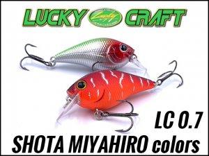 Lucky Craft USA/ LC 0.7 【SHOTA color】