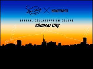 【お一人様2個まで!】HONEYSPOT×Line Slack/セビレ [#SUNSET CITY]