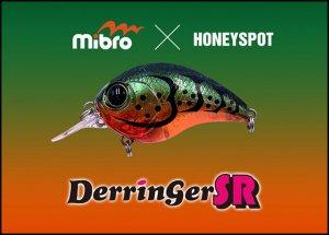 【お一人様1個まで!】mibro × HONEYSPOT/デリンジャーSR 【#HS Craw bomb】