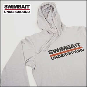 <img class='new_mark_img1' src='https://img.shop-pro.jp/img/new/icons25.gif' style='border:none;display:inline;margin:0px;padding:0px;width:auto;' />SWIMBAIT UNDERGROUND/SU LOGO LOCK UP TECH HOODIE