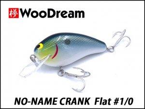 WooDream/NO-NAME CRANK Flat #1/0 【ポリカ仕様】