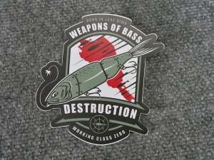 WCZ×DRT/DESTRUCTION STICKER