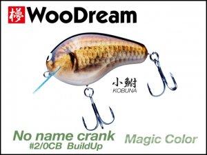 WooDream/NO-NAME CRANK #2/0 CB BuildUp Magic color [小鮒]