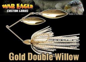 WAR EAGLE/Spinnerbait DW 【3/4oz Gold】