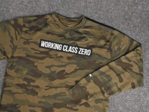 WORKING CLASS ZERO/Standard Crew Sweater [CAMO]
