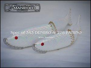 【予約販売】マニフォールド/デニイロ 343 [White Rainbow]【11月下旬入荷予定】