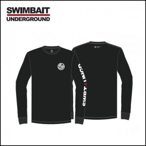 SWIMBAIT UNDERGROUND/SU Circle Logo ロング Tシャツ