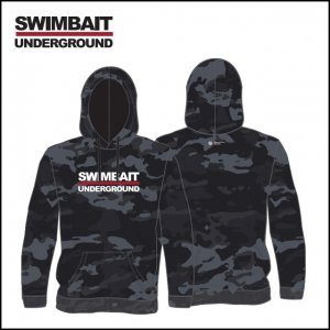 SWIMBAIT UNDERGROUND/SU Logo Lock Up フーディー