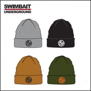 SWIMBAIT UNDERGROUND/SU Circle Cuffed ビーニー