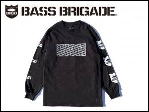 バスブリゲード/STANDOUT ロングTシャツ [BLACK] [STNOD03]