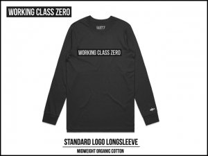 WORKING CLASS ZERO/Standard Logo Long Sleeve