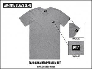 WORKING CLASS ZERO/Echo Chamber Tee