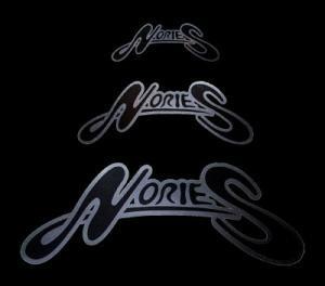 NORIES/ロゴステッカー 01