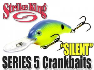 StrikeKing/Pro Model Crankbaits 5 【Silent】