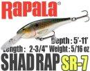 Rapala/SHAD RAP 7