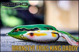 SPRO/ブロンズアイフロッグ 90 キングダディ Bronzeye Frog King Daddy
