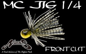 NORIES/MC JIG 1/4oz 【Front Cut】