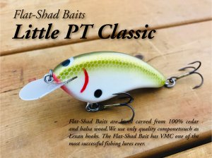 <img class='new_mark_img1' src='https://img.shop-pro.jp/img/new/icons55.gif' style='border:none;display:inline;margin:0px;padding:0px;width:auto;' />Flat Shad Baits/Little PT Classic 【最終入荷】