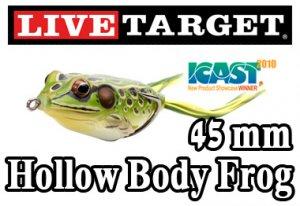 LiveTarget(ライブターゲット)/Hollow Body Frog【45mm】(ホローボディフロッグ)