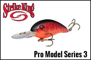 StrikeKing/Pro Model SERIES 3 Crankbaits