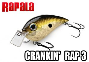 Rapala/CRANKIN' RAP-3