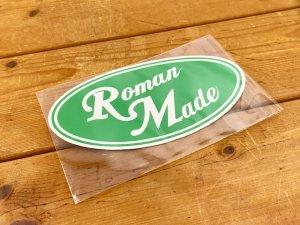 ROMAN MADE/オリジナルステッカー(楕円形)