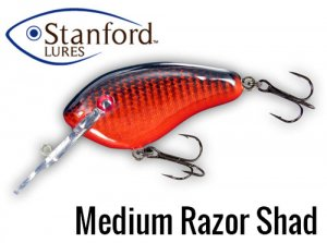 Stanford Lures/Medium Razor Shad